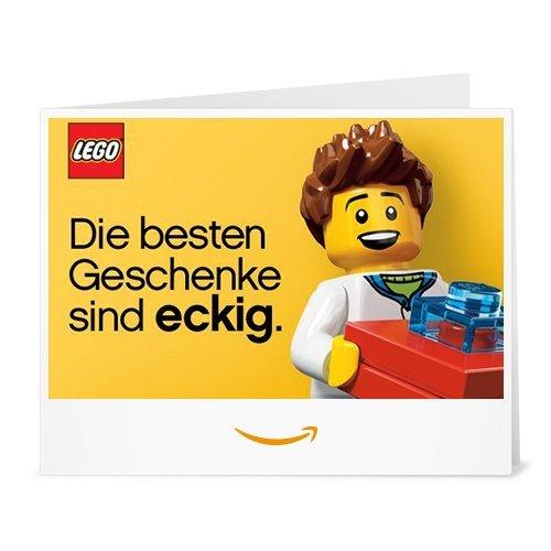 Amazon.de Gutschein zum Drucken (LEGO)
