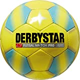 Derbystar Futsal Match Pro Light, Gelb/Blau, 4, 1088400569