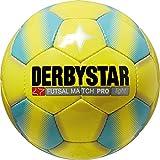 Derbystar Futsal Match Pro Light, 4, gelb blau, 1088400569