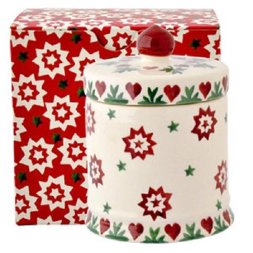 Emma Bridgewater–Joy Star candela con coperchio (Boxed) | 1jst031718