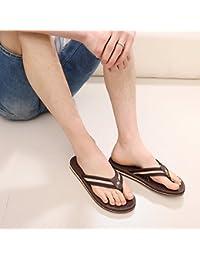 HUAHUA Cool Pantoufles Femmes Pente avec des Sandales de Plein Air Épais Version Coréenne de La Simple Et Confortable Les Chaussures de Femmes Et Polyvalent Chaussons 643IDcyY5f
