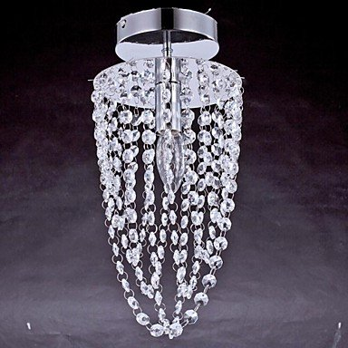 Ceiling Lamps , 1 Light , Crystal Artistic Stainless Steel
