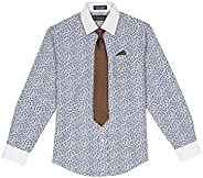 Steve Harvey Big Boys' Shirt and Tie