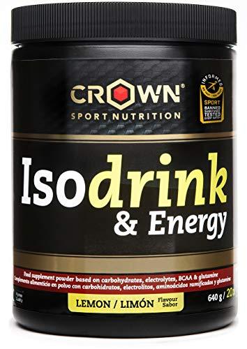 Crown Sport Nutrition Isotonic Drink con certificación antidoping Informed Sport, Bebida...
