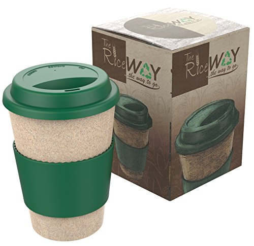 Eco TRAVEL MUG * Taza de café y Té * Reutilizable Biodegradable Resistente