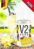 V2 Vape Vanille AROMA/KONZENTRAT hochdosiertes Premium Lebensmittel-Aroma zum...