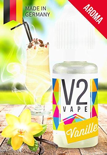 V2 Vape E-Liquid Aroma / Konzentrat Vanille 10ml 0mg