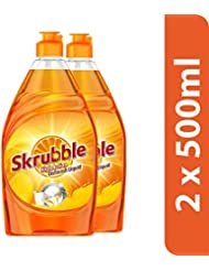 Skrubble High Action Dish Wash Liquid - 500 ml (Pack of 2)