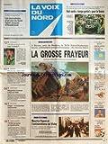 Telecharger Livres VOIX DU NORD LA No 16570 du 26 09 1997 A BIERNE PRES DE BERGUE LE TGV PARIS DUNKERQUE HEURTE VIOLEMMENT UNE GOUDRONNEUSE MAURICE PAPON ET L ANTISEMITISME DE VICHY LES SPORTS FOOT METALEUROP PRISON AVEC SURSIS POUR LES DIRECTEURS MONT NOIR YOURCENAR A RECU SES HOTES SANS PAPIERS 110 000 DEMANDES DE REGULARISATION 800 TEMPS PARTIEL POUR LA SCENIC (PDF,EPUB,MOBI) gratuits en Francaise