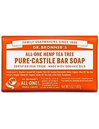Dr Bronner's 140 g Organic Tea Tree Soap Bar