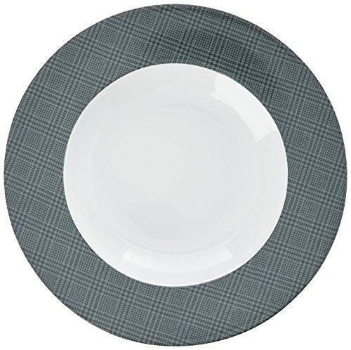 Novastyl 4060242 Set di 6 Cena Arenaria Hollow Galles grigio 24.5 x 24.5 x 4.2 cm