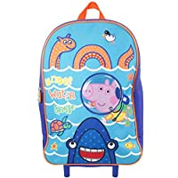 Peppa George Boys Girls Wheeled Bag Luggage