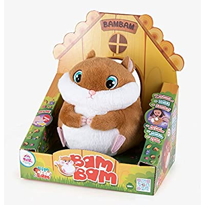 Club Petz 95090 Bam Bam The Hamster Plush Tpy