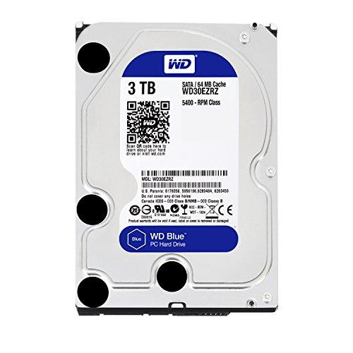 WD Blue WD30EZRZ 3 TB Interne Festplatte (8,9 cm (3,5 Zoll), SATA 6 Gb/s (bulk)) - 4