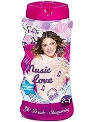 Disney 2-in-1 Shower Gel and Shampoo,  Violetta 475 ml