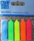 ALCOfix Haftmarker Film Haftnotizem 6835 125 Sptitzstreifen