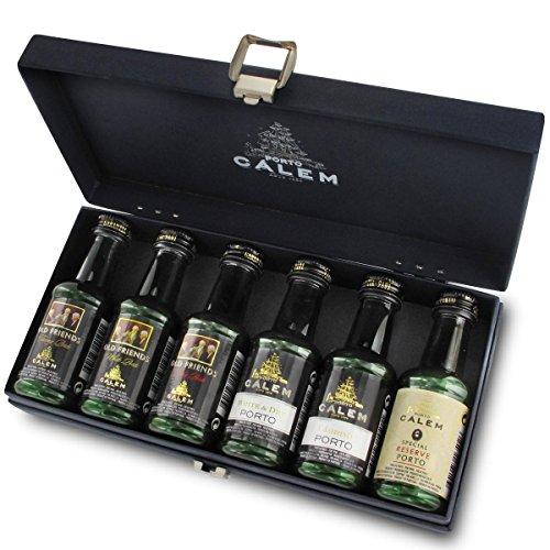 Porto Cálem mit 6 Portwein-Miniaturen á 50 ml im Geschenkkarton mit Ihrer individuellen...