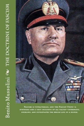 The Doctrine Of Fascism por Benito Mussolini