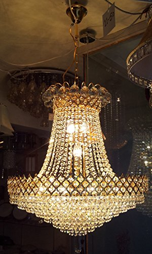 S M Arcade Grand Crystal Chandelier in under Rs 10000/- delivered to your doorstep (SM-52-A1/D)