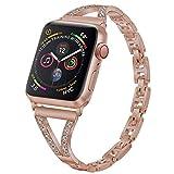 PUGO TOP Bracelet de Remplacement pour Apple Watch série 4 40mm44mm iWatch série 3...