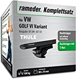 Rameder Komplettsatz, Dachträger WingBar für VW Golf VI Variant (118176-08442-65)