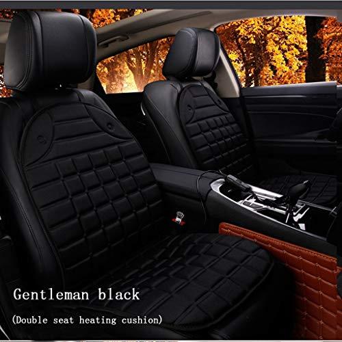 Mancao Auto Heizung Sitzkissen, Winter Auto Universal Seat 12V Auto Pinzette Elektrische Heizung Pad -