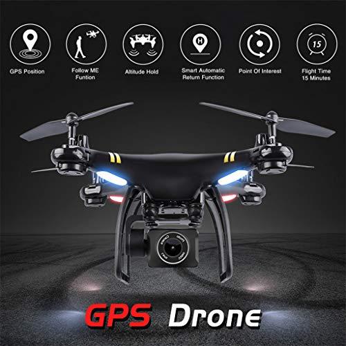 TianranRT Uav-Drohne/Gw168 Wifi Fpv 1080P Weitwinkelkamera Follow Me Smart Return...