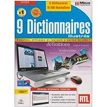9 Dictionnaires Illustrés