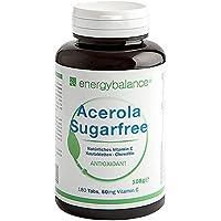 ACEROLA Sugarfree la Vitamina C Naturale 60mg, 180 Compr. Masticabili