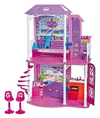 Barbie W3155 - Casa De Vacaciones (Mattel) por Mattel