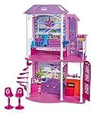 Mattel Barbie W3155 - 2-stöckiges Strandhaus mit 4 Zimmern und Zubehör