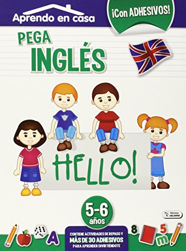 Pega Inglés. 5-6 Años
