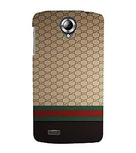 PrintVisa Luxury Brand Pattern 3D Hard Polycarbonate Designer Back Case Cover for Lenovo S820