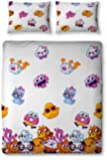 Character World Moshi Monsters Moshlings Double Rotary Duvet Set, Multi-Color