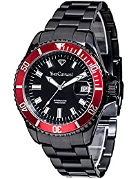 Yves Camani Unisex-Armbanduhr Anwen Xl Analog Quarz YC1065-H