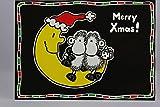 sheepworld - 50248 - Postkarte, Weihnachten, Schaf, Merry Xmas!