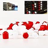 Earlywish 200PCS connettore RCA femmina presa jack Plug Protector cappuccio per...