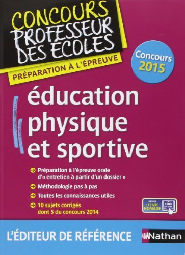 Education physique et sportive de Alain Saint-Jalmes (9 janvier 2015) Broch