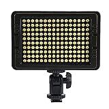 Glighone 160LEDs 10W LED Videoleuchte Videolicht...