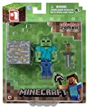 Minecraft 3-inch Zombie Action Figure