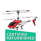 (CERTIFIED REFURBISHED) Toyhouse Metal Helicopter 3 Channel Infrared Remote Control with Gyroscope n