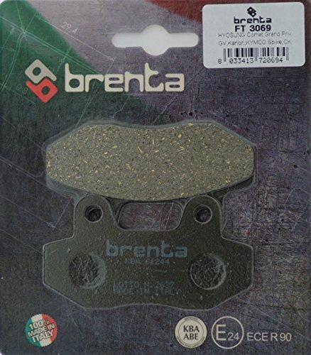 Preisvergleich Produktbild Brenta Bremsbeläge Organische Motorrad für Daelim, Garelli, Honda, Hyosung, SYM