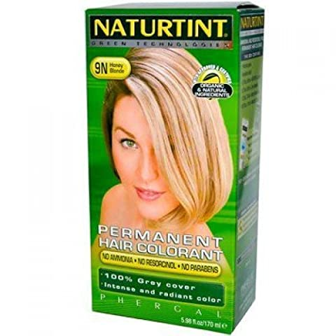 Naturtint 9N Honey Blonde Permanent Haircolor, 1 Kit, 5.28 Ounce by Naturtint
