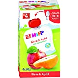 Hipp fruits QB Pear & Apple, 4x90g