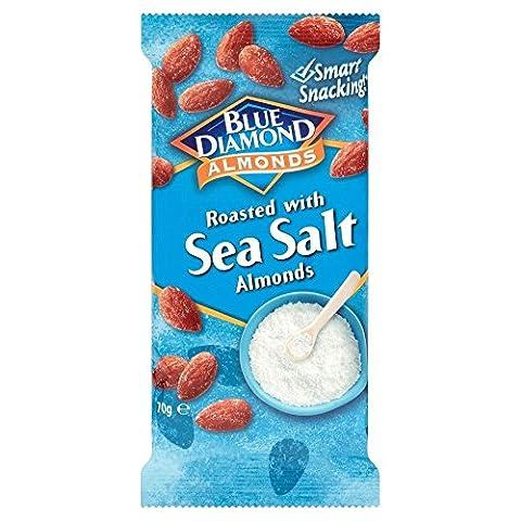 Blue Diamond Amandes grillées - sel de mer (70g) - Paquet de 2