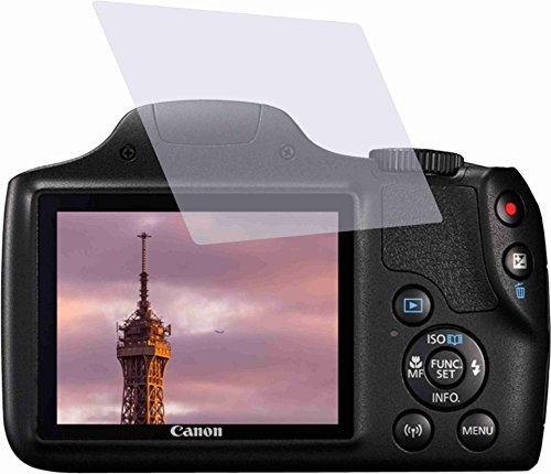 2 Stück HARTBESCHICHTETE KRISTALLKLARE Displayschutzfolie für Canon PowerShot SX540 HS Bildschirmschutzfolie (Canon Hs-100)