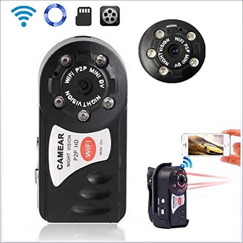 Lu mini fotocamera wireless wifi telecamera remota mini fotocamera webcam, portatile indoor/outdoor/bambini studenti