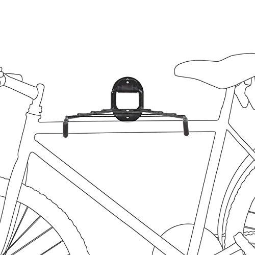 Soporte para bicicletas Soporte a pared Hasta 25 kg de carga