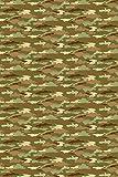 HomeCollection Camouflage Tapete grün/braun