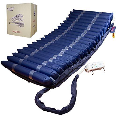 Mobiclinic, Mobi 4, Materasso antidecubito ad aria, Pressione alternata, Compressore, Blu scuro
